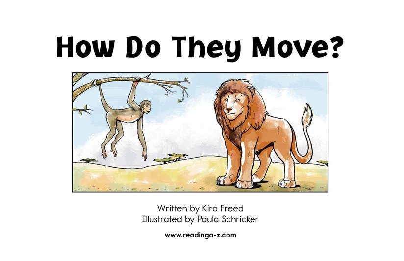 Book Preview For How Do They Move? Page 2