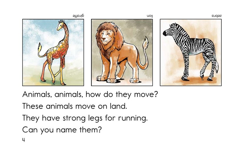 Book Preview For How Do They Move? Page 4