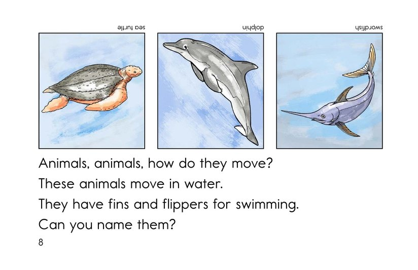 Book Preview For How Do They Move? Page 8