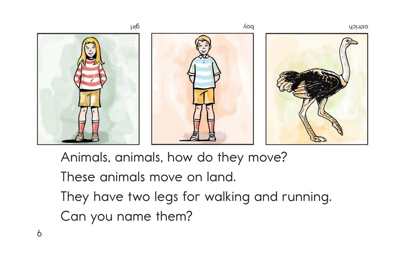 Book Preview For How Do They Move? Page 6