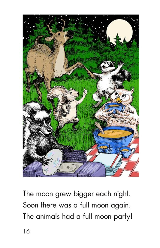 Book Preview For The Disappearing Moon Page 16