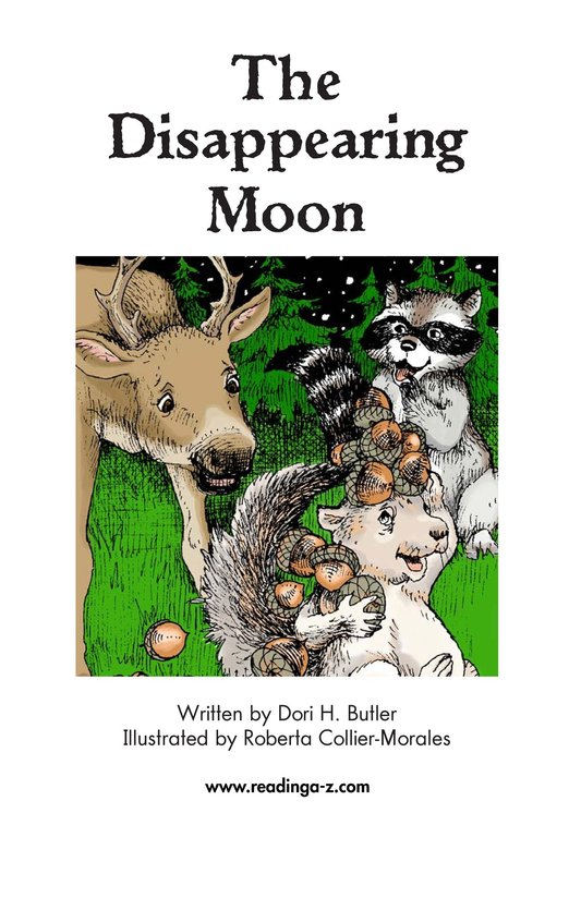 Book Preview For The Disappearing Moon Page 2