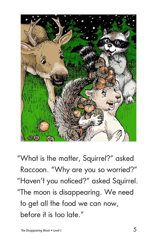 Book Preview For The Disappearing Moon Page 5