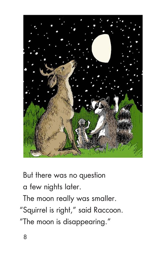 Book Preview For The Disappearing Moon Page 8