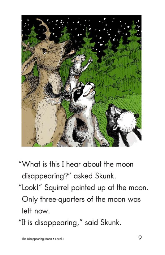 Book Preview For The Disappearing Moon Page 9