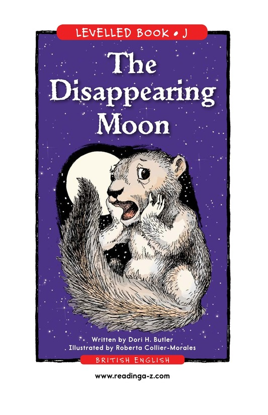 Book Preview For The Disappearing Moon Page 1