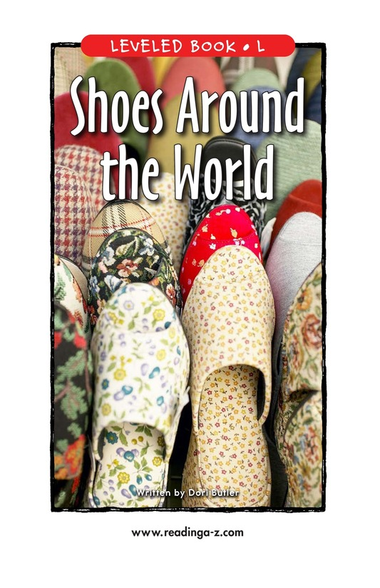 Book Preview For Shoes Around the World Page 1