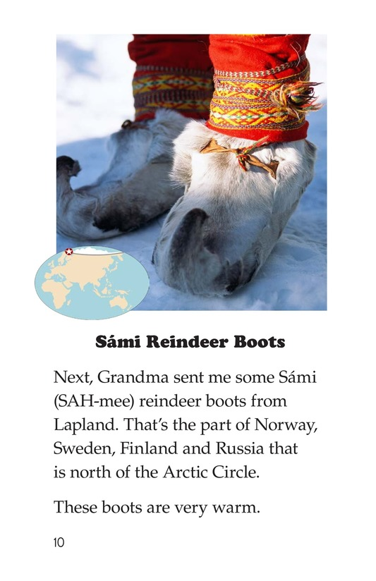 Book Preview For Shoes Around the World Page 10
