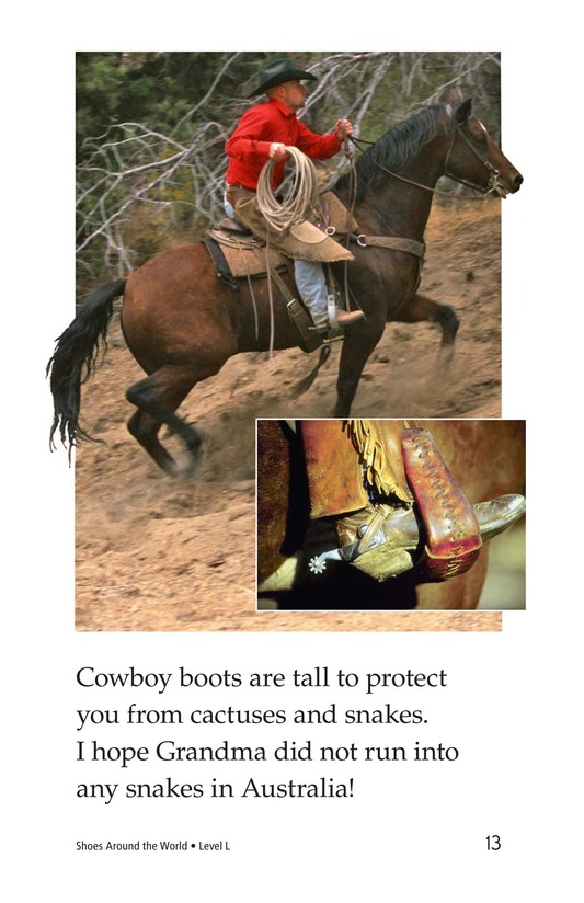 Book Preview For Shoes Around the World Page 13