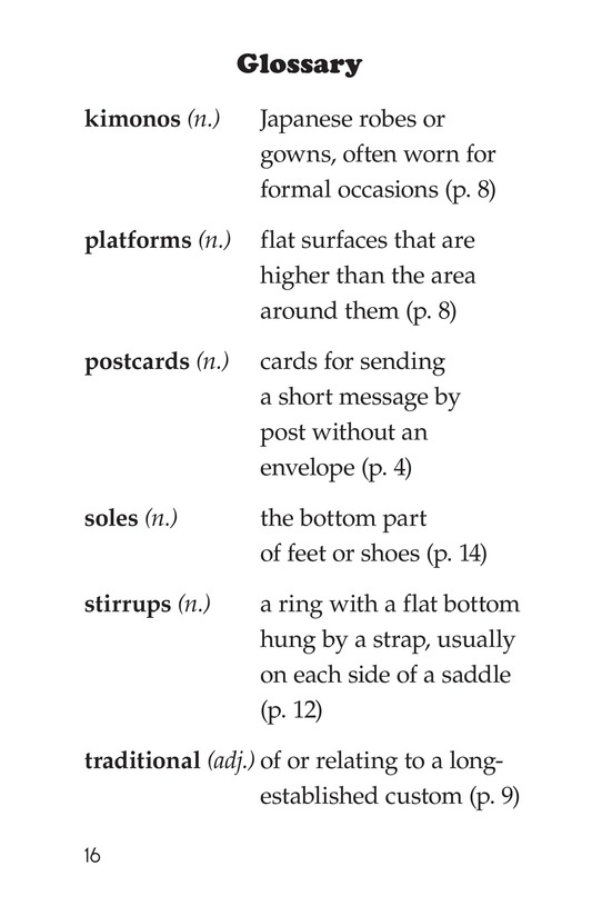 Book Preview For Shoes Around the World Page 16