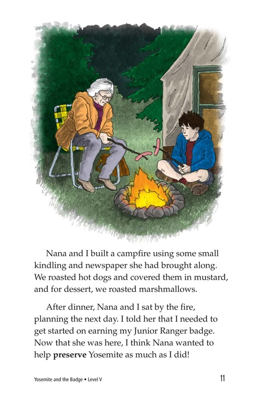 Book Preview For Yosemite and the Badge Page 11