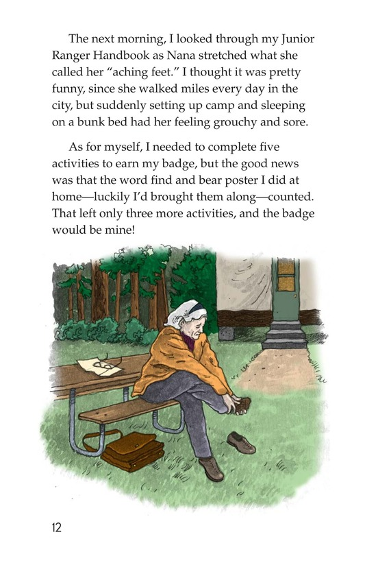 Book Preview For Yosemite and the Badge Page 12