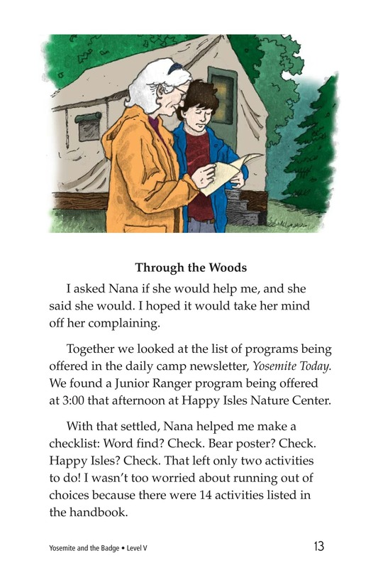 Book Preview For Yosemite and the Badge Page 13