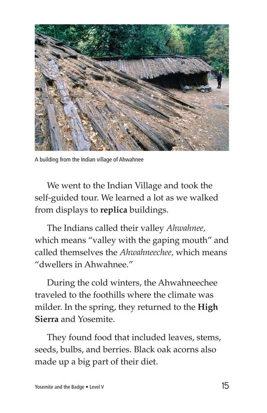 Book Preview For Yosemite and the Badge Page 15
