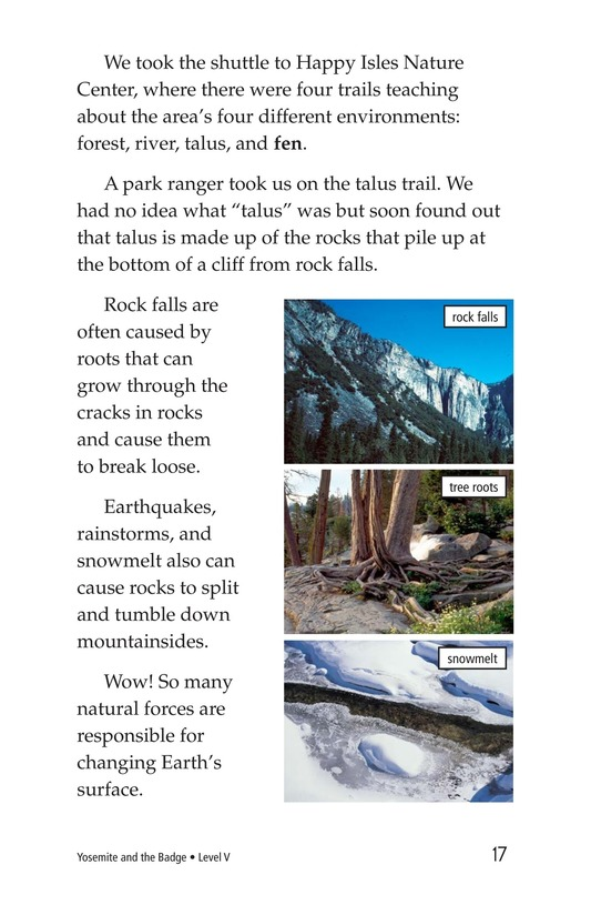 Book Preview For Yosemite and the Badge Page 17