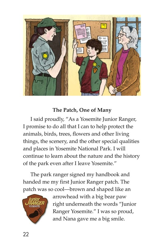 Book Preview For Yosemite and the Badge Page 22