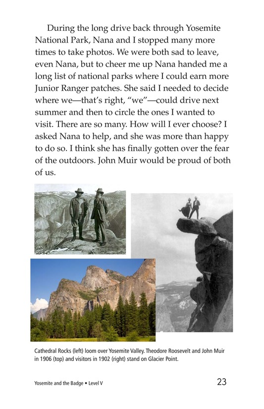 Book Preview For Yosemite and the Badge Page 23