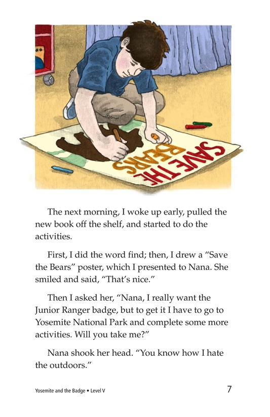 Book Preview For Yosemite and the Badge Page 7