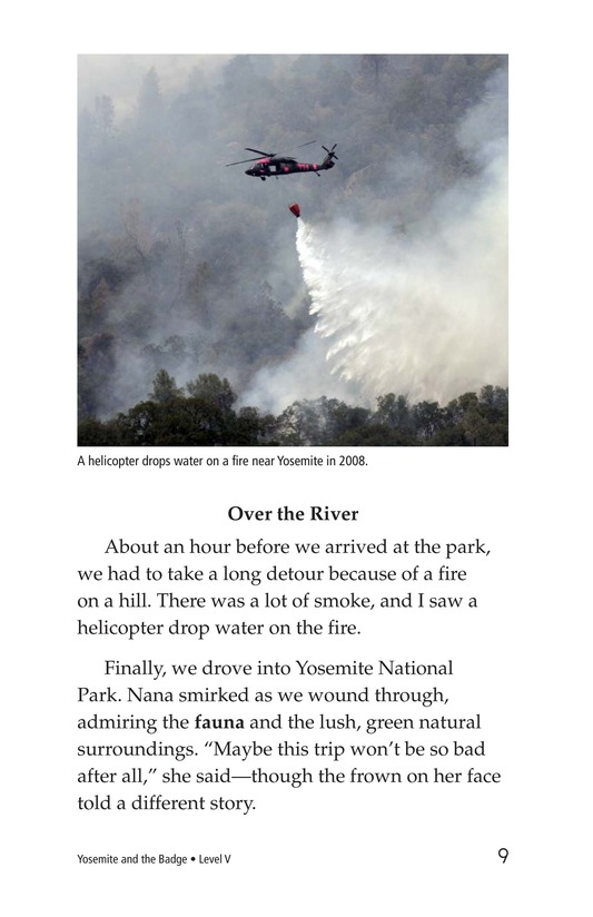 Book Preview For Yosemite and the Badge Page 9