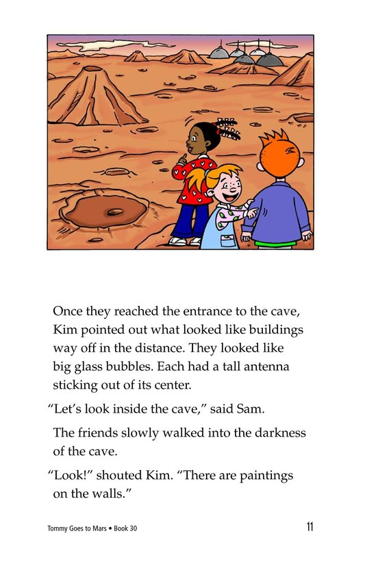 Book Preview For Tommy Goes to Mars Page 11