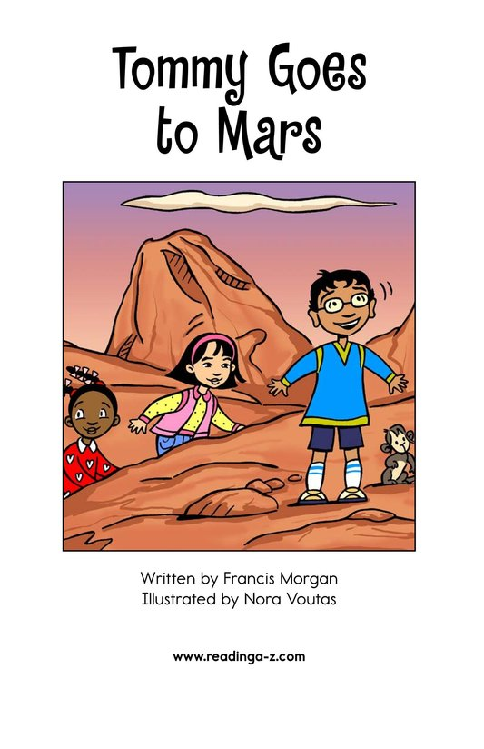 Book Preview For Tommy Goes to Mars Page 2
