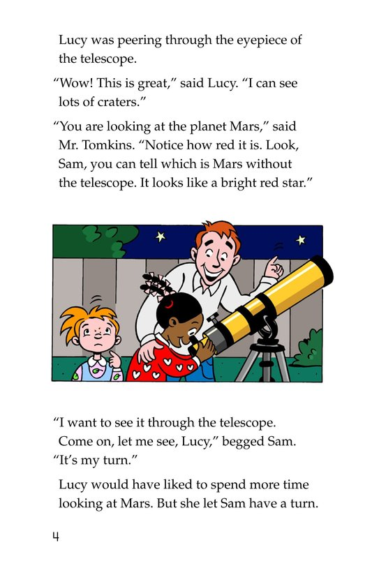 Book Preview For Tommy Goes to Mars Page 4