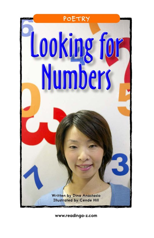 Book Preview For Looking for Numbers Page 1
