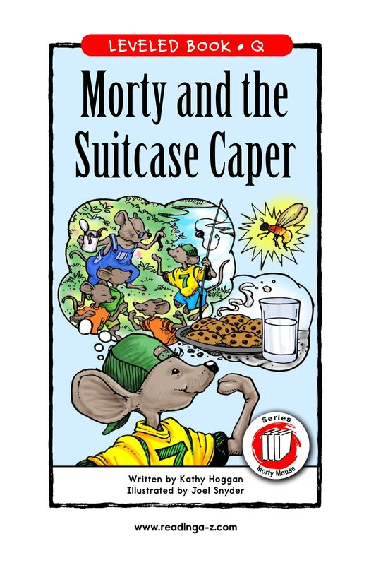 Book Preview For Morty and the Suitcase Caper Page 1