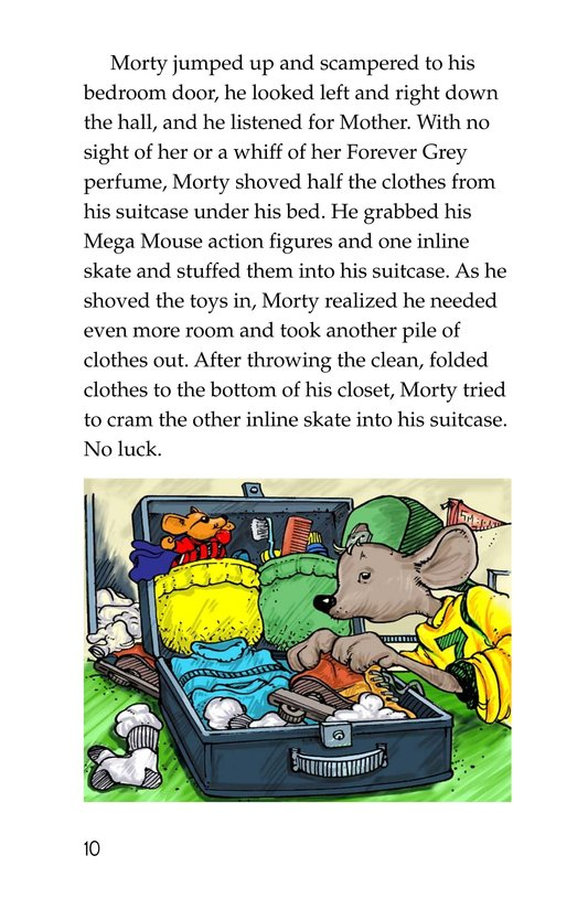 Book Preview For Morty and the Suitcase Caper Page 10