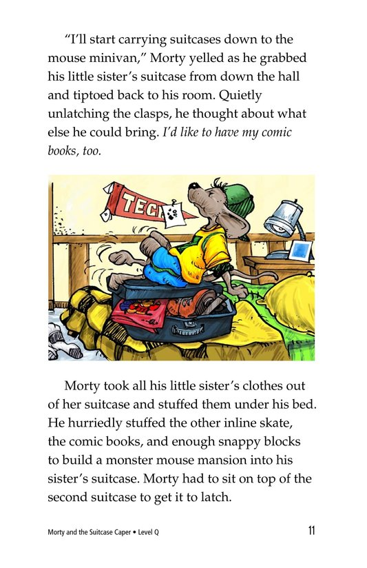 Book Preview For Morty and the Suitcase Caper Page 11