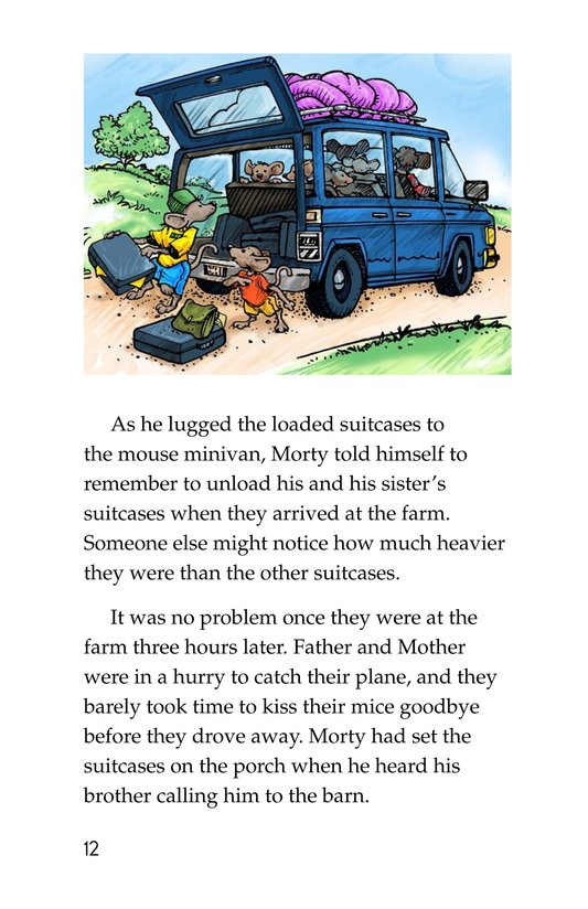 Book Preview For Morty and the Suitcase Caper Page 12