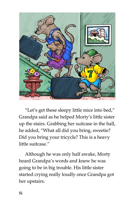 Book Preview For Morty and the Suitcase Caper Page 14