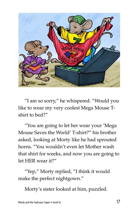 Book Preview For Morty and the Suitcase Caper Page 17