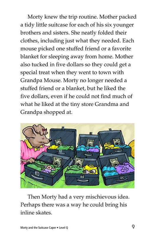 Book Preview For Morty and the Suitcase Caper Page 9