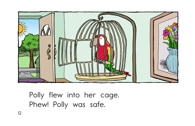 Book Preview For Polly Gets Out Page 12