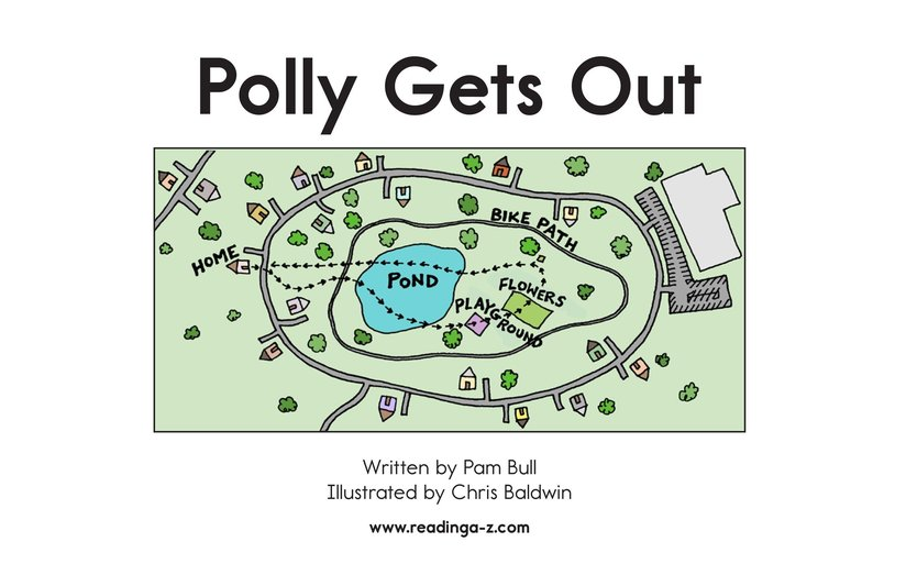 Book Preview For Polly Gets Out Page 2
