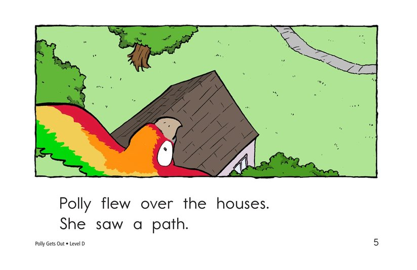 Book Preview For Polly Gets Out Page 5