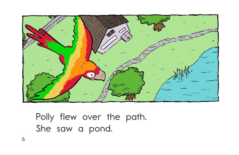 Book Preview For Polly Gets Out Page 6