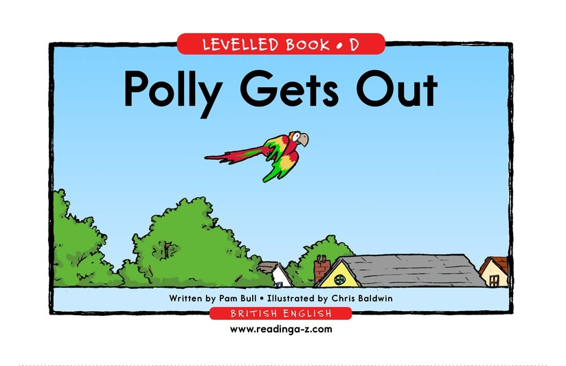 Book Preview For Polly Gets Out Page 1