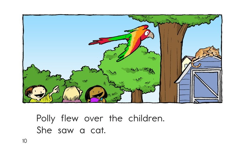 Book Preview For Polly Gets Out Page 10