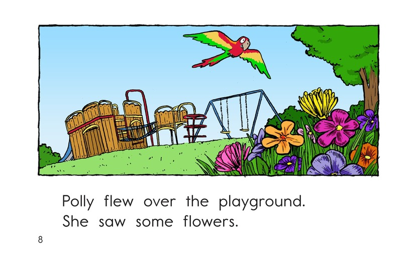 Book Preview For Polly Gets Out Page 8
