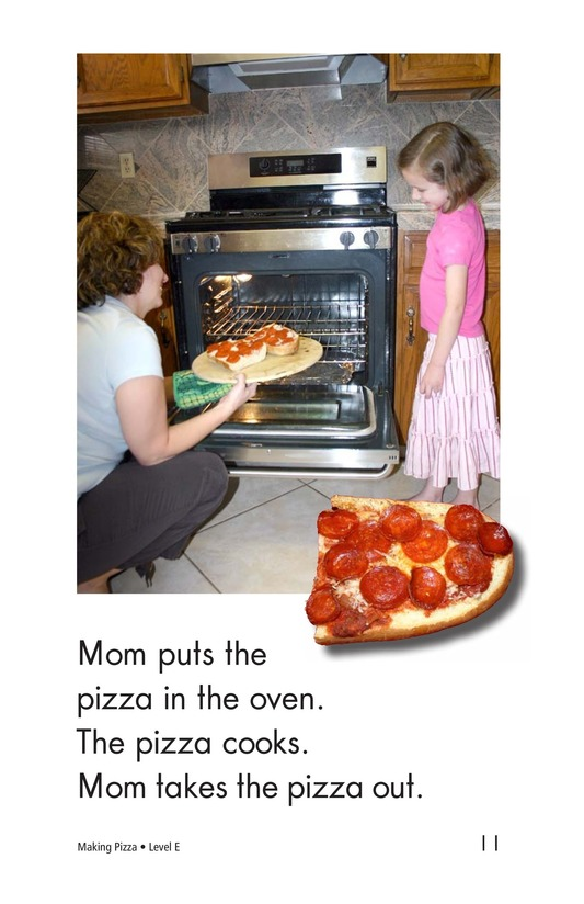 Book Preview For Making Pizza Page 11
