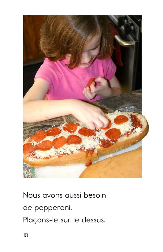 Book Preview For Making Pizza Page 10