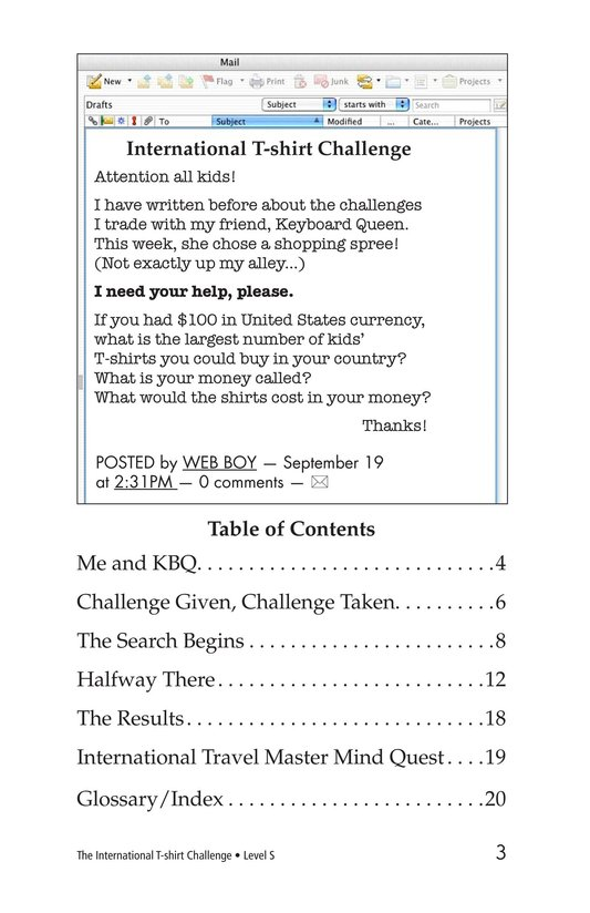 Book Preview For The International T-Shirt Challenge Page 3