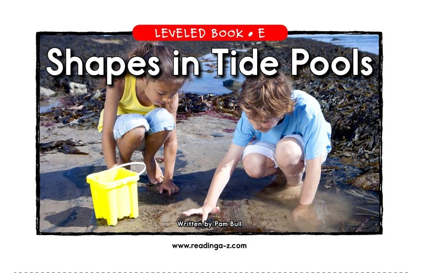 Book Preview For Shapes in Tide Pools Page 1