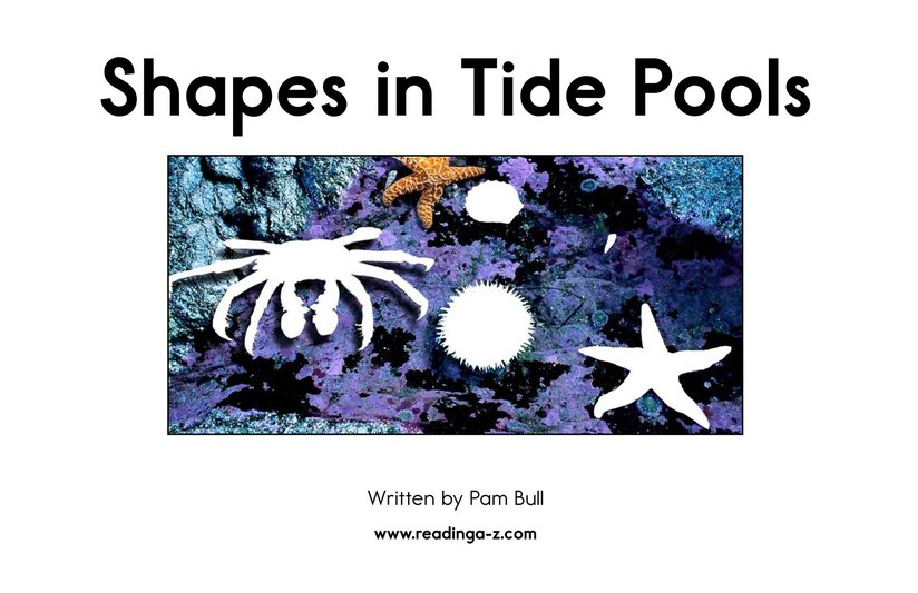 Book Preview For Shapes in Tide Pools Page 2