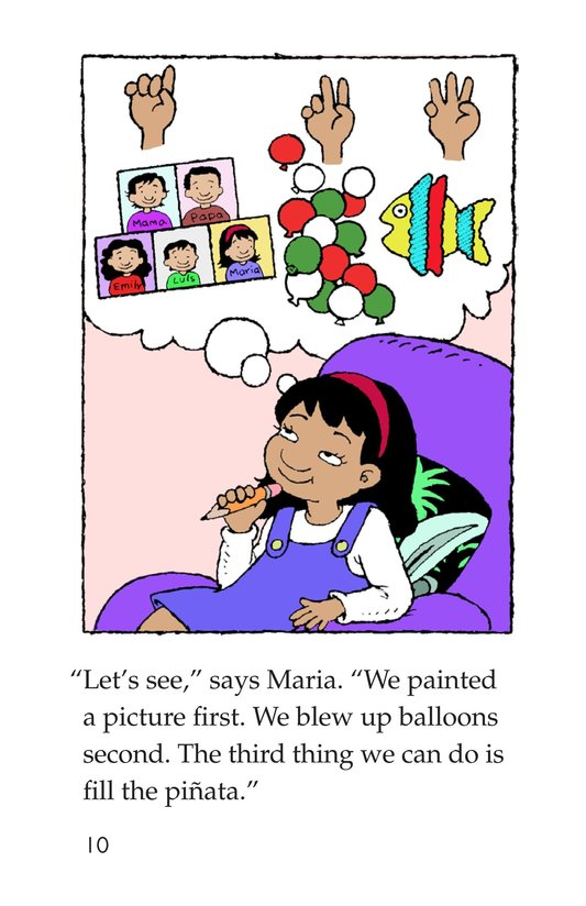Book Preview For Maria's Family Celebration Page 10