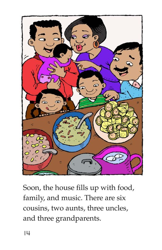 Book Preview For Maria's Family Celebration Page 14