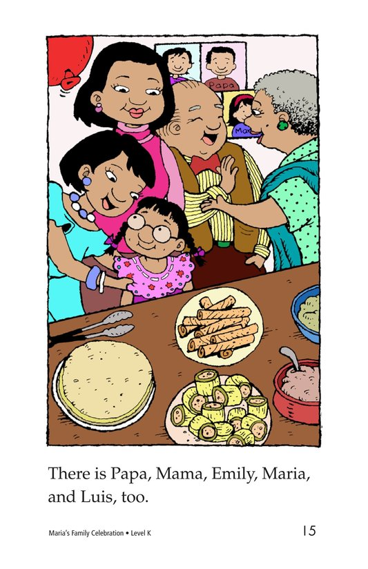 Book Preview For Maria's Family Celebration Page 15