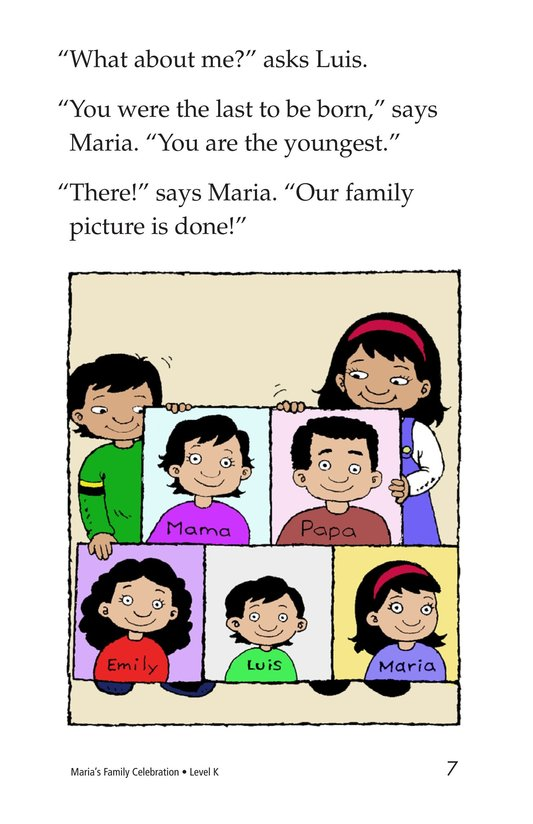 Book Preview For Maria's Family Celebration Page 7